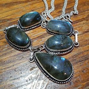 Jewelry - Labradorite necklace  22 inches